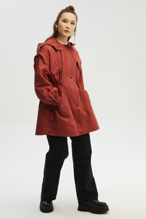 SWEETY PARKA TRENCH MERCAN